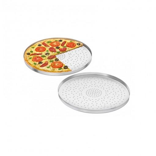 Forma de Pizza com Furos Hotel Alumínio ABC