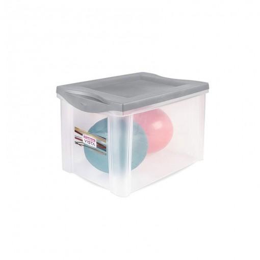 Caixa Organizadora, Plástica 30Lts Sanremo.