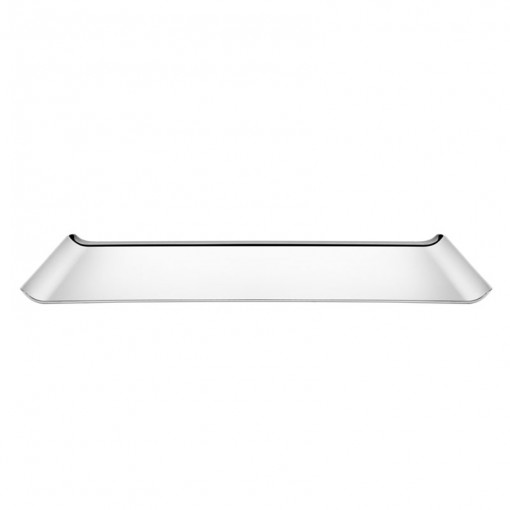 Bandeja Tramontina Retangular em Aço Inox Alto Brilho 38 x 17 cm