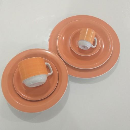 Aparelho de Jantar, Chá e Café. 42pçs. Schmidt
