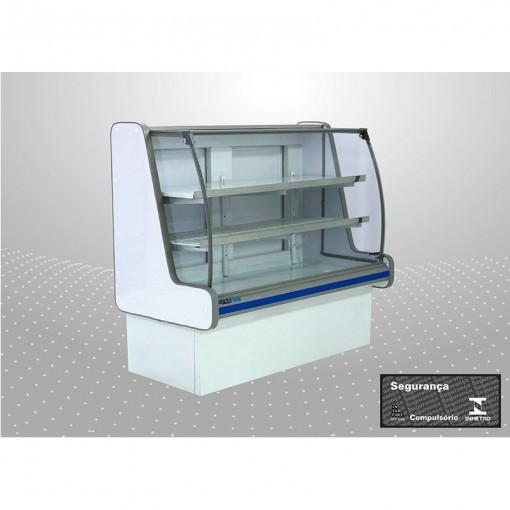 Balcão refrigerado pop luxo 1,25 m Linha 3004 | 3005 PoloFrio