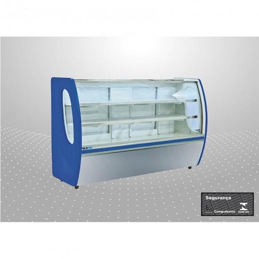 Balcão refrigerado premium 1,25 m Linha 3102 PoloFrio
