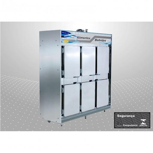 Geladeira comercial 6 portas Linha 4005 | 4006 PoloFrio